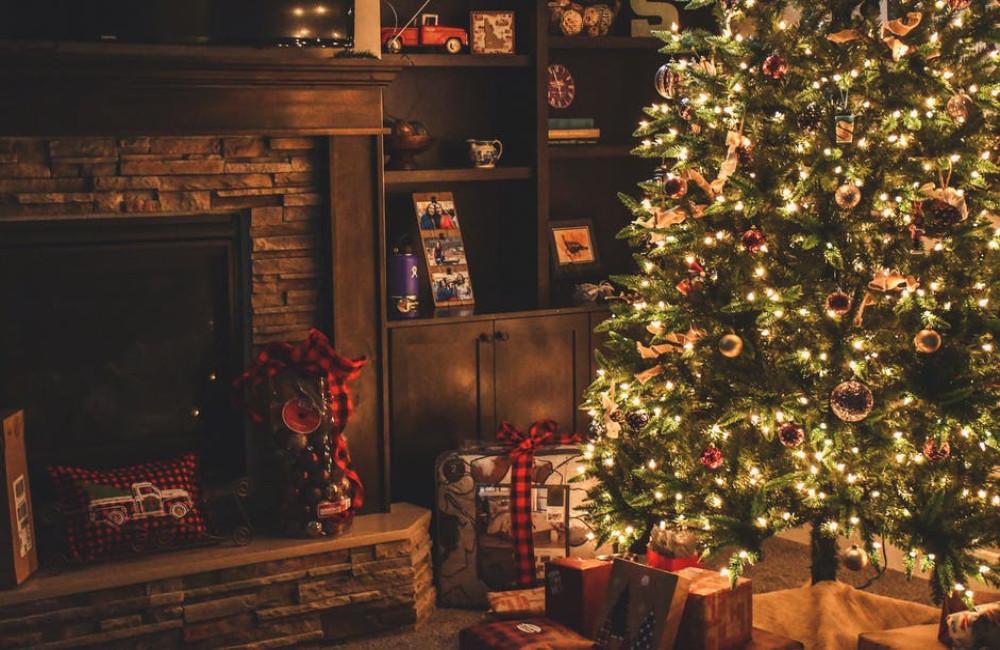 Haal de kerst in uw woonkamer