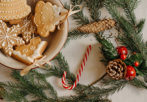 Feestelijke artikelen met kerst